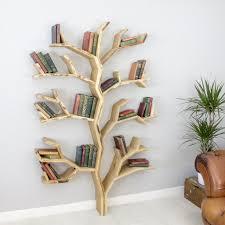 100 Tree Branch Bookshelves The Elm Shelf