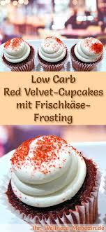 velvet cupcakes mit frischkäse frosting rezept