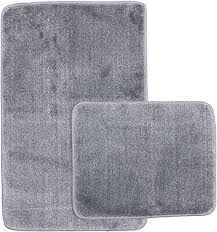 50 x 50 cm wc vorleger grau sentidos badematte badeteppich