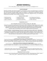 Cover Letter Examples Law Enforcement Officer Of Resume With And Enforcem