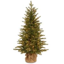 4ft Pink Pre Lit Christmas Tree by 4 Ft Pre Lit U0027 U0027feel Real U0027 U0027 Nordic Spruce Artificial Christmas