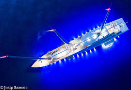 Josip On Deck Twitter by S Y A Lights Up Monaco Yacht Harbour