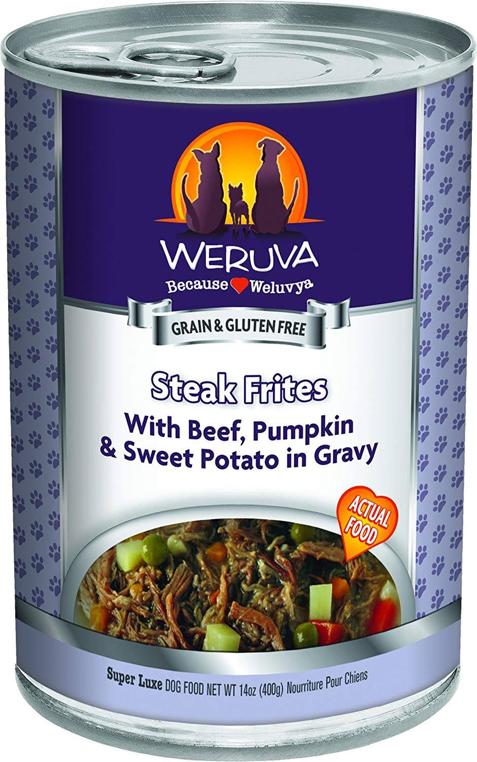 Weruva Dog Food - Steak Frites