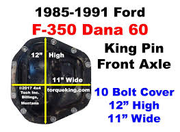 ID My 1985-1991 Ford F350 Dana 60 Front Axle Working Trucks Jim Carter Truck Parts Id A 19992016 Ford Sterling 105 Rear Axle My 851991 F350 Dana 60 Front Differential Idenfication Learn How To Identify What Type Of Shaft Length And Bolt Circle Measurement Sierra Gear Boltin Rearend Buyers Guide Hot Rod Network Determine Differential Gear Ratio Without Rpo Code Blazer Chevy 10 End Chart Lovely Rebuilding An 01 Texas Shdown 2016 Max Towing Overview Piuptruckscom News 10bolt Know Youre Looking At Amazoncom 1988 1998 Chevrolet C1500 Gmc 6 Do I Identify 1948 Ford 1 Ton From 12