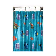 Nemo Underwater Shower Curtain Curtain Drapery