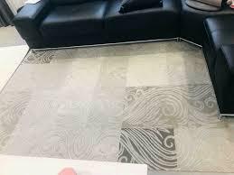 230x160 modern teppich wohnzimmer esszimmer beige creme