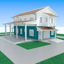 3D Apartment with garage 1