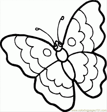 Ipad Coloring Free Printable Butterfly Pages In