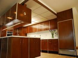 Kitchen1960s Kitchen Cabinets The Feeling Of Classic With Clock Painting 1960s
