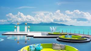 100 W Hotel Koh Samui Thailand Retreat Destination Edding Venues Packages