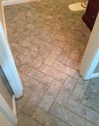No Grout Luxury Vinyl Tile by Diy Herringbone Peel N Stick Tile Floor Grace Gumption