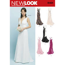 New Look Special Occasion Dress Sewing Pattern 6401 Hobbycraft