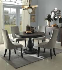 Round Dining Room Set For 4 by Homelegance Dandelion 5pc Dining Table Set In Taupe By Dining