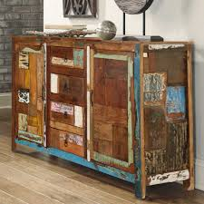Arizona 60 Handcrafted Rustic Reclaimed Wood Accent Sideboard Cabinet