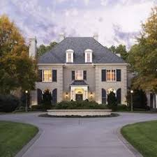 Small French Country House Plans Colors French Country Exterior Grey Black And White Colour Schee Home