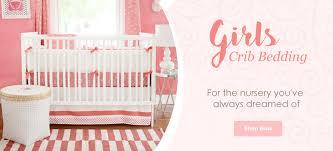 Pink Crib Bedding by Crib Bedding For Girls Rosenberry Rooms