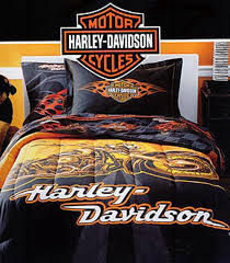 Charming Harley Davidson Queen Size Bedding M79 For Interior Decor Home With