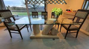 designer esszimmer romana steinmöbel sideboard tisch spiegel