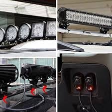 5D 52 Inch f Road LED Light Bar CREE LED 300W 30 Degree Spot 60