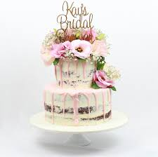 KAVS SEMI MASQUED 2 TIER CAKE WITH TOPPER