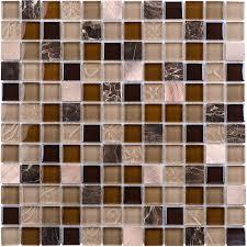 shop elida ceramica coral light squares mosaic glass metal