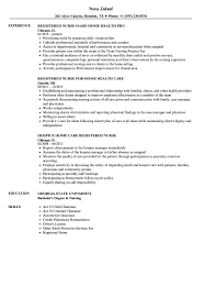 Download Home Registered Nurse Resume Sample As Image File