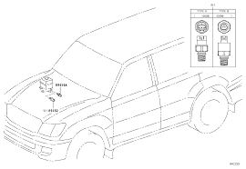 ACTIVE CONTROL SUSPENSION (ELECTRICAL PARTS) For Toyota LAND CRUISER ...