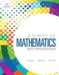 Survey Of Mathematics With Applications A Plus NEW MyLab Math Pearson EText Access Card Package 9th Edition