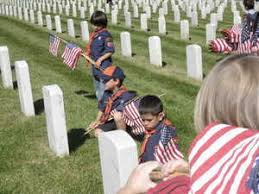 memorial day graveside decorations memorial day grave decoration cub scouts