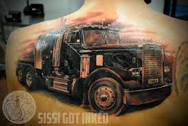 100 Semi Truck Tattoos Ultimate Truth Er And Ing Companies