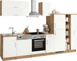 held möbel küchenzeile colmar mit e geräten breite 330 cm