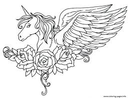 Printable Unicorn Rainbow Coloring Pages Inside Out Printable