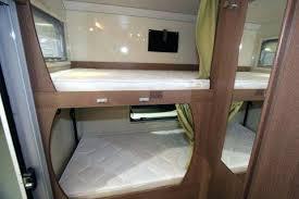 lit superpose occasion des lits superposacs a bord du cing car