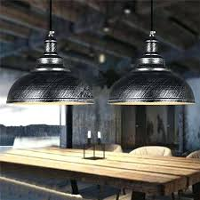 Industrial Dining Light Vintage Chandelier Room Restaurant Simplicity Iron Bronze Black Silver