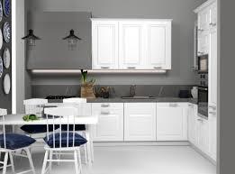 küche l form mit hoch hängeschränke neu