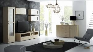 wohnzimmer set a kainanto 7 teilig farbe eiche grau