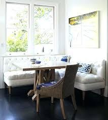 Booth In Kitchen Blue Accessories Dark Floor Ideas Traditional