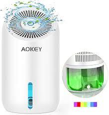 aokey luftentfeuchter elektrischer entfeuchter raumentfeuchter 1000ml leise lufttrockner für badezimmer wohnung schlafzimmer keller