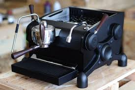 Matte Black Slayer Espresso Machine