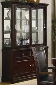 Coaster Ramona Formal Dining Room China Cabinet In Walnut Finish