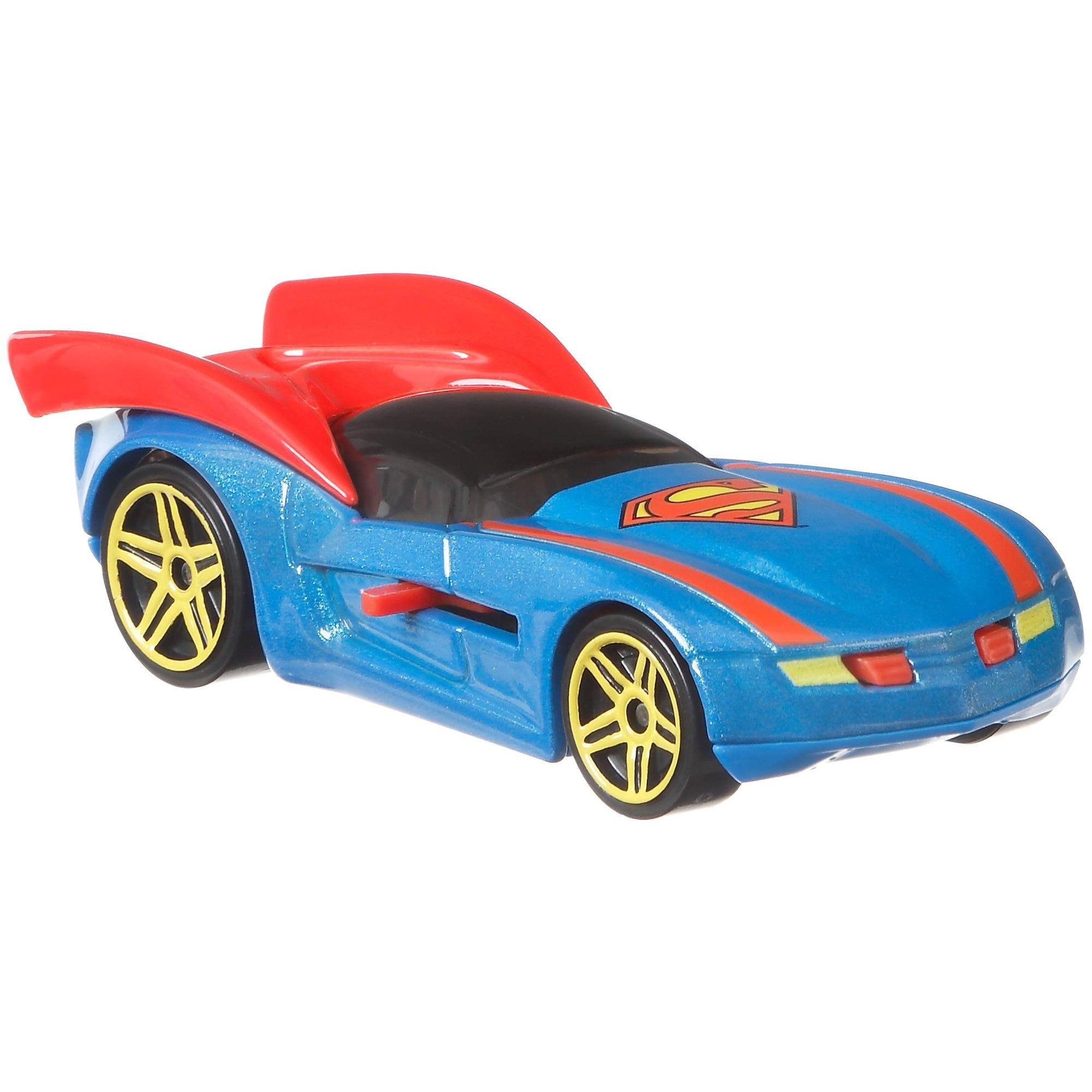 Hot Wheels DC Universe Superman Character Car
