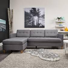 FALSLEV 3 Seater Sofa Grey