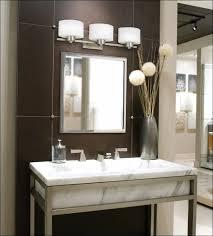 Home Depot Bathroom Lighting Brushed Nickel by Elegant Led Vanity Light Fixtures Awesome Bathroom Lights Design