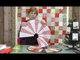 The Easiest Christmas Table Topper Mini Tree Skirt Youll Ever Make