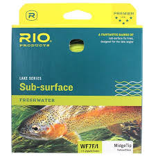 midge tip fly line sinking tip trout fishing