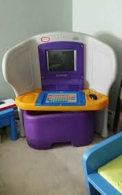 little tikes young explorer desk and computer included plus tons