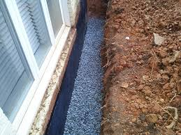 basement waterproofing footer tiles interior and exterior