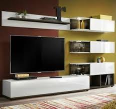 details zu wohnwand silk wohnzimmer set modern design anbauwand wohnmöbel kollektion