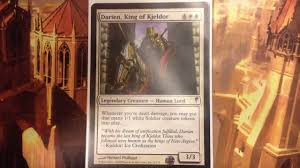 Mtg Thraximundar Edh Deck by Darien King Of Kjeldor Mono White Pain Is Gain Edh Commander