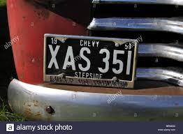Stepside Chevy Pickup Truck Stock Photos & Stepside Chevy Pickup ...